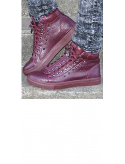 Baskets homme Project X lacets et zip