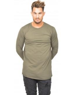 T-shirt homme oversize à zips