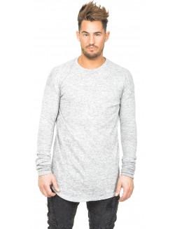 T-shirt homme oversize chiné