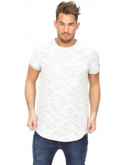 T-shirt Sixth June zip chiné