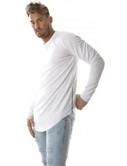 T-shirt Celebry-Tees molletonné à zips