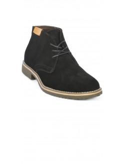 Boots homme effet daim
