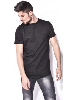 T-shirt homme oversize à relief