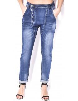 Jeans Blue Rags sarouel délavé
