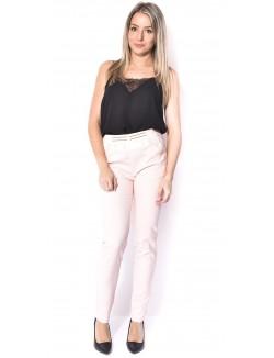Pantalon de tailleur à ceinture