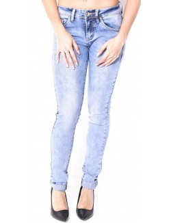 Jeans slim délavé