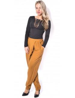 Pantalon femme sarouel
