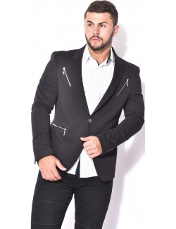Veste de costume à zips