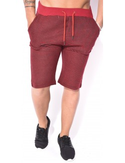 Short sarouel Berry Denim rayé
