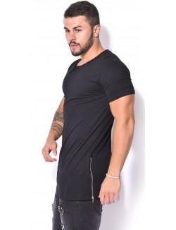 T-shirt Berry Denim oversize à zips