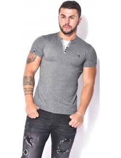 T-shirt Armita encolure contrastante