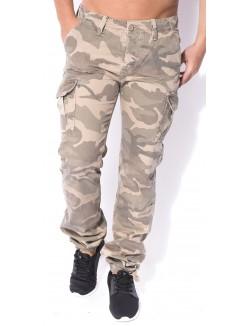 Pantalon cargo camo Crossby