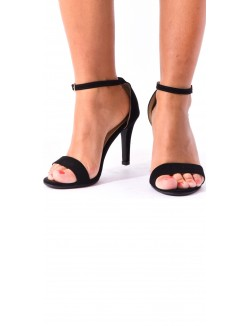 Sandales minimalistes en daim à brides