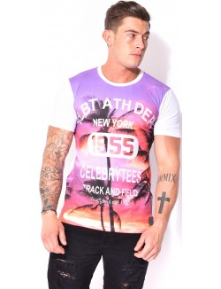 T-shirt Celebry-Tees palmiers