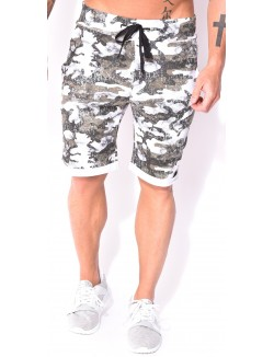 Short homme camou