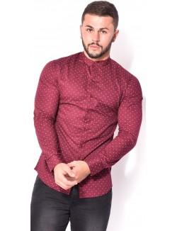 Chemise homme slim-fit à motifs