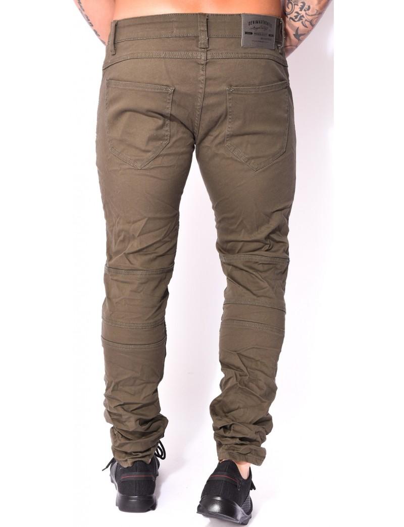jeans homme motard kaki jeans industry. Black Bedroom Furniture Sets. Home Design Ideas
