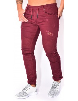 Jeans Project X esprit motard destroy
