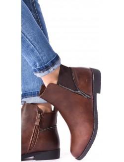 Chelsea boots zippées