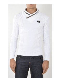 Pull homme fashion à zips