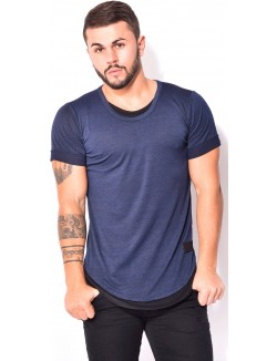T-shirt Celebry-Tees oversize chiné