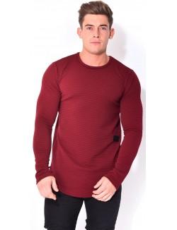 T-shirt Celebry-Tees oversize à zip