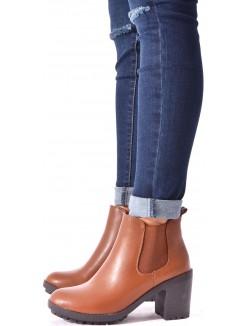 Chelsea boots à talons